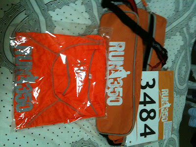 2011 Run 350 Singapore Race Pack