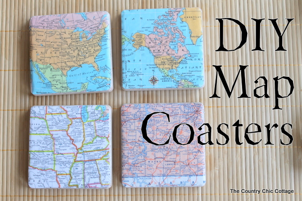 Diy Map Wedding Gift : just for fun ArchivesPage 8 of 20The Country Chic Cottage