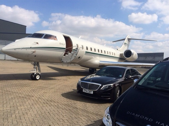 Iyanya And His Manager Fly Private Jet Share Pictures  Welcome To Linda Ike