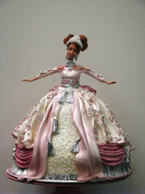 Pastel Barbie Princesa. Tartas Originales.