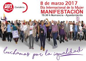 8 de Marzo Día Internacional de la Mujer, ¡Luchamos por la Igualdad!
