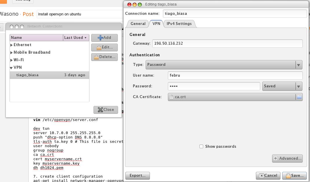 install openvpn client ubuntu