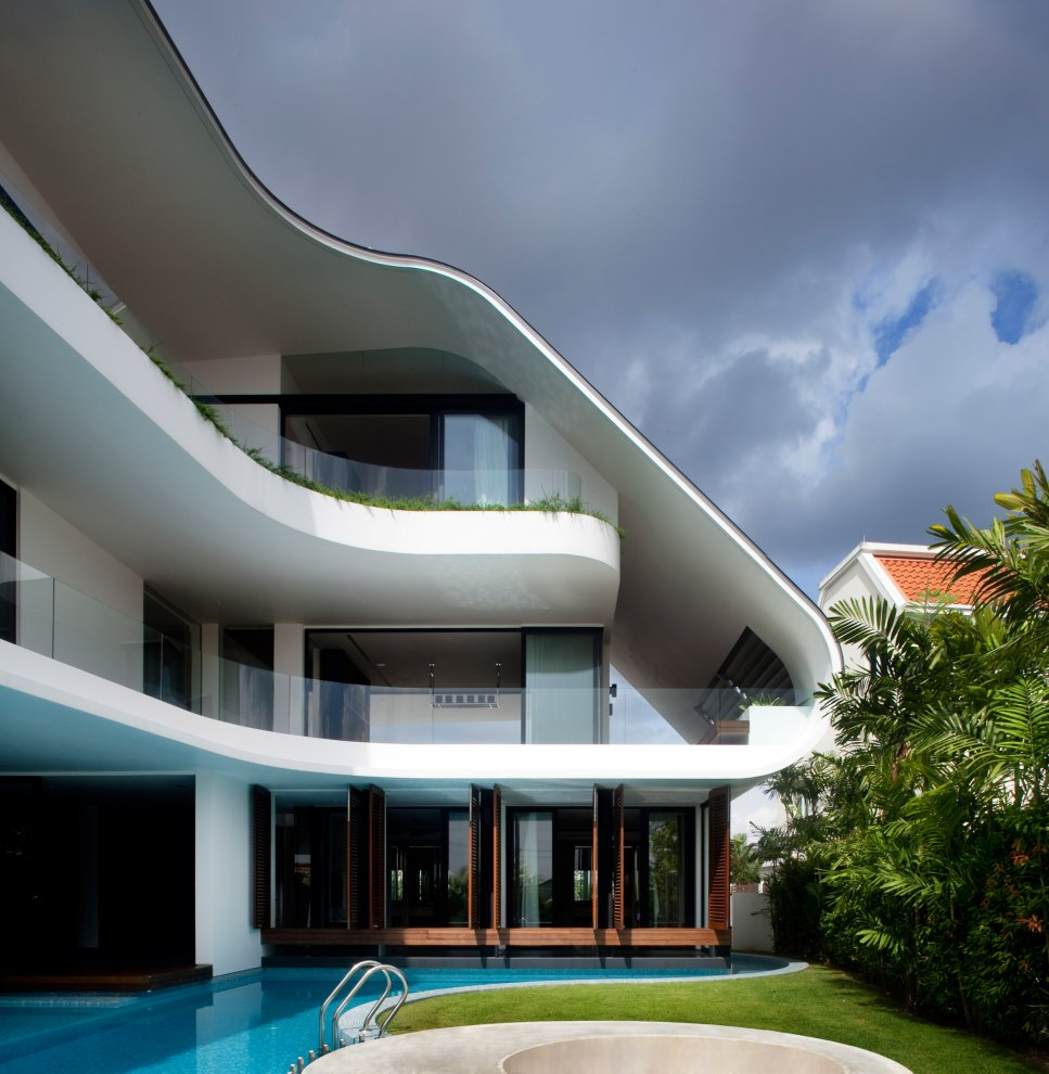 Beautiful Home In Singapore: Most Beautiful Houses In The