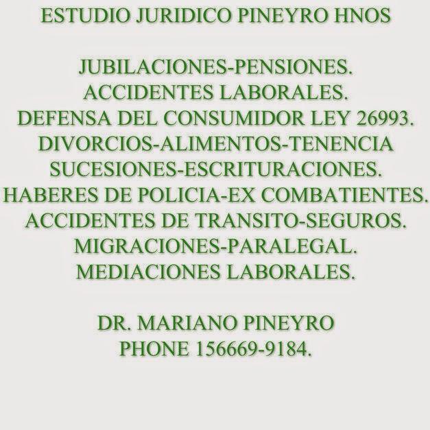 ESTUDIO JURIDICO PIÑEYRO HNOS