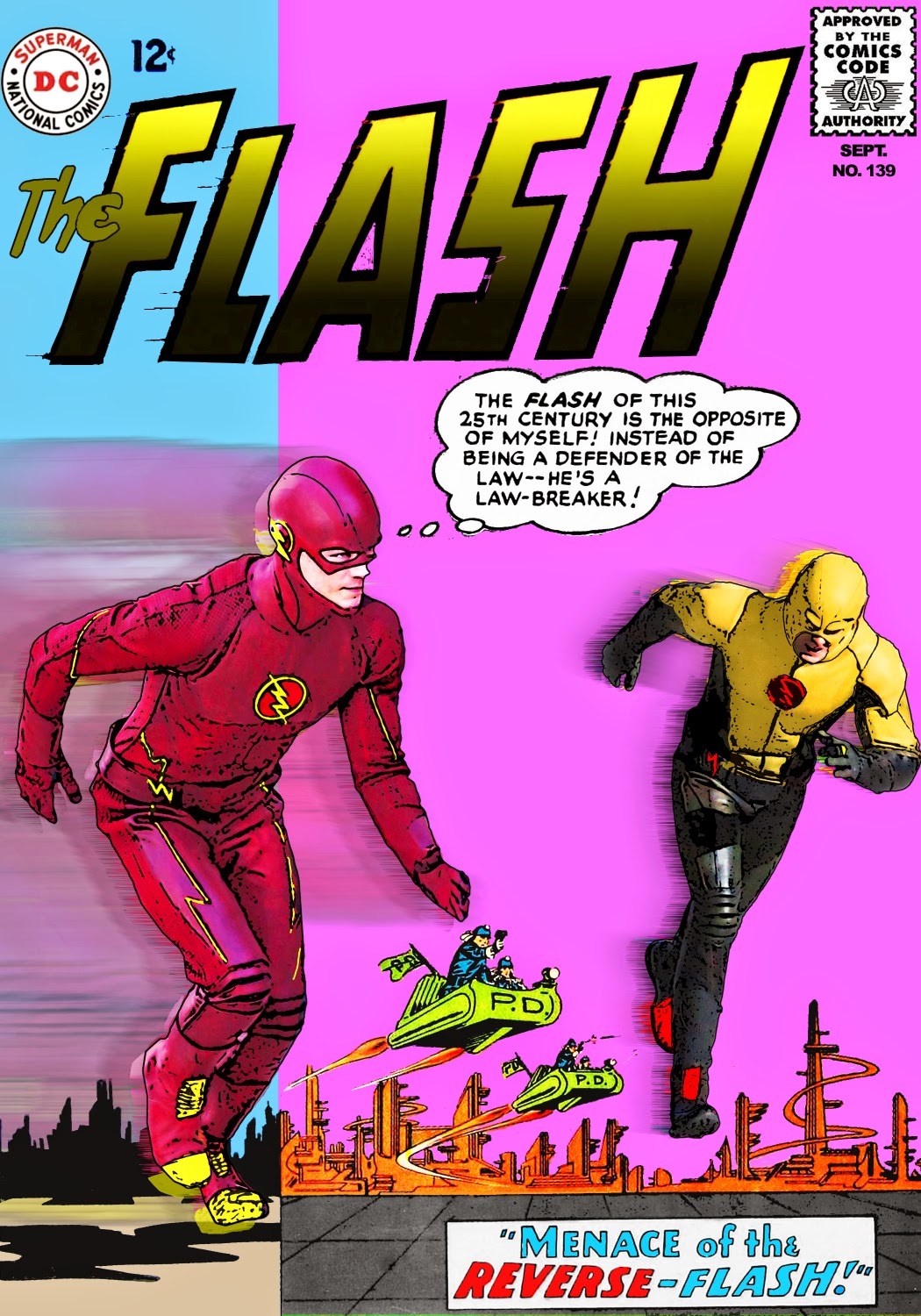 Flash 1990 Reverse Flash Nice Try 1990 The Flash