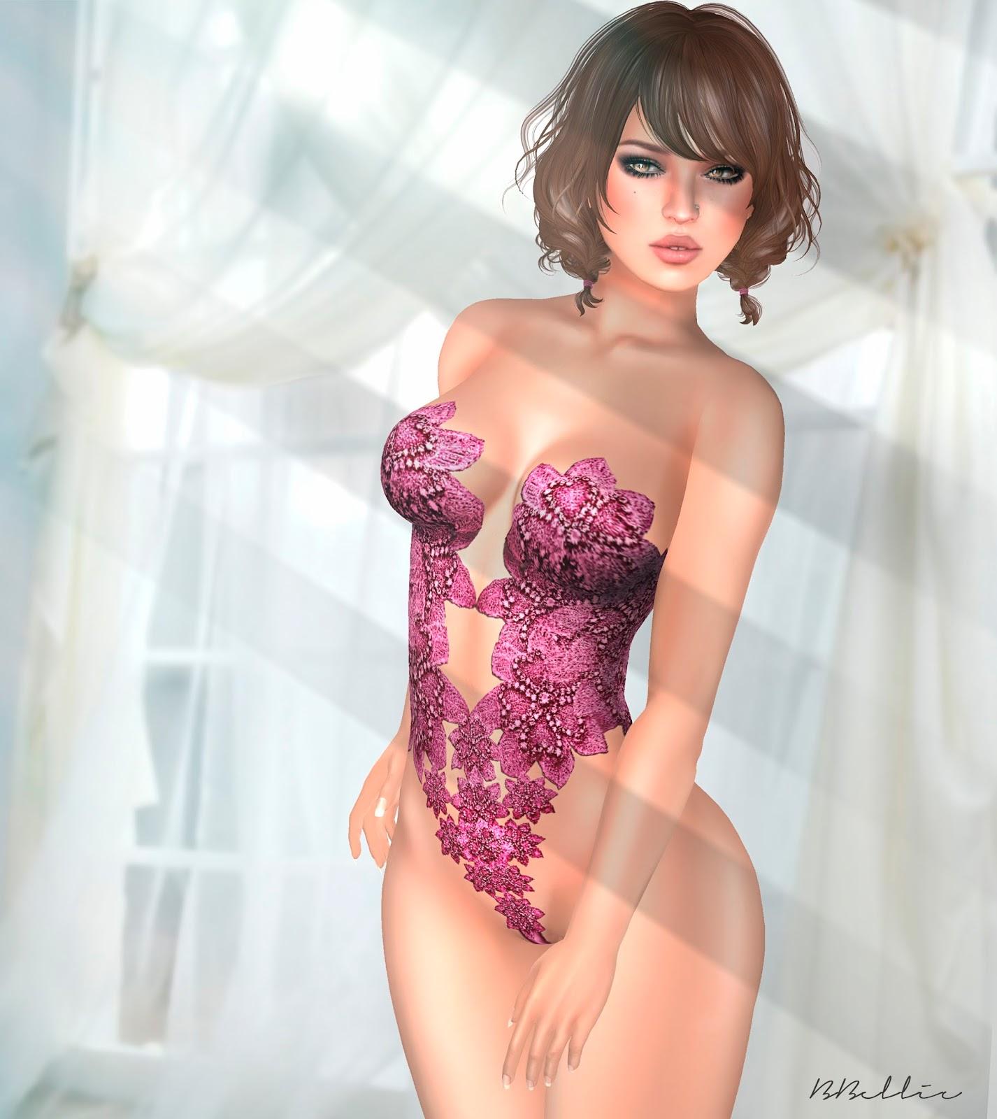 SeconDoll: Diva lingerie Posh Pixels - cherry bomb