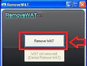 Hướng dẫn dùng Remove Wat sửa lỗi màn hình đen