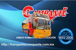 ¡VISITA NUESTRA PAGINA, PARTICIPA Y GANA CON LAS PROMOCIONES DE TRANSPORTES CAMPANTE!