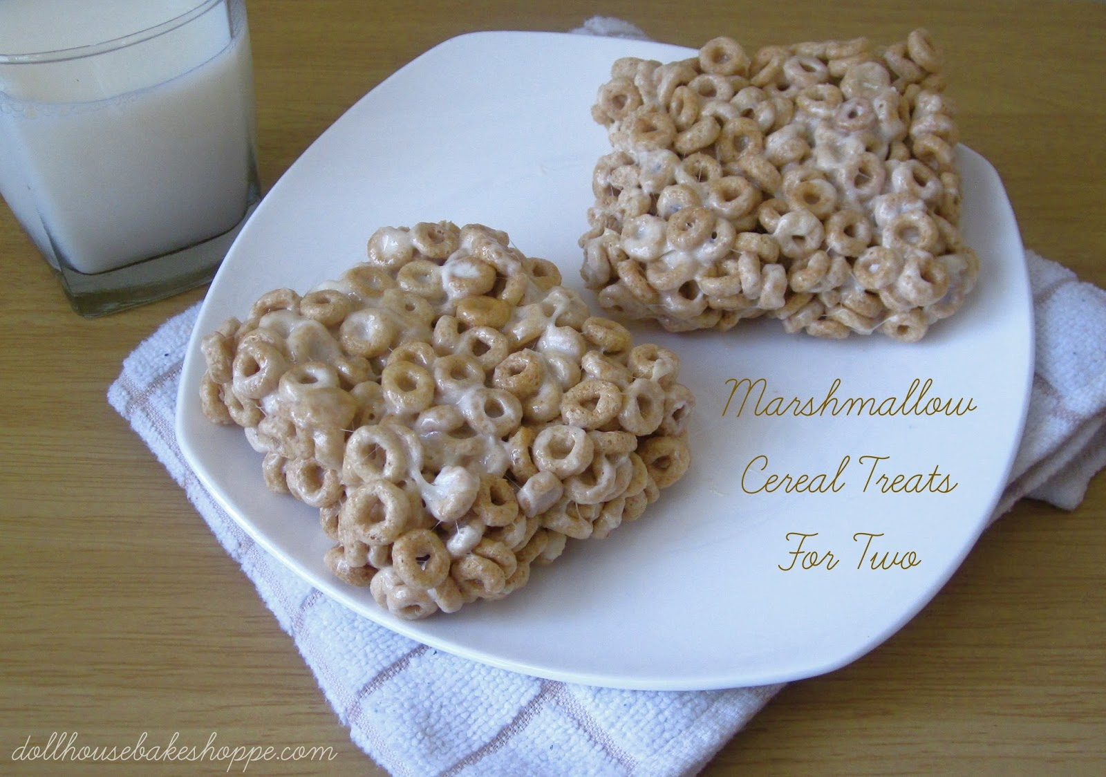 Lindsay Ann Bakes: Marshmallow Cereal Treats For Two