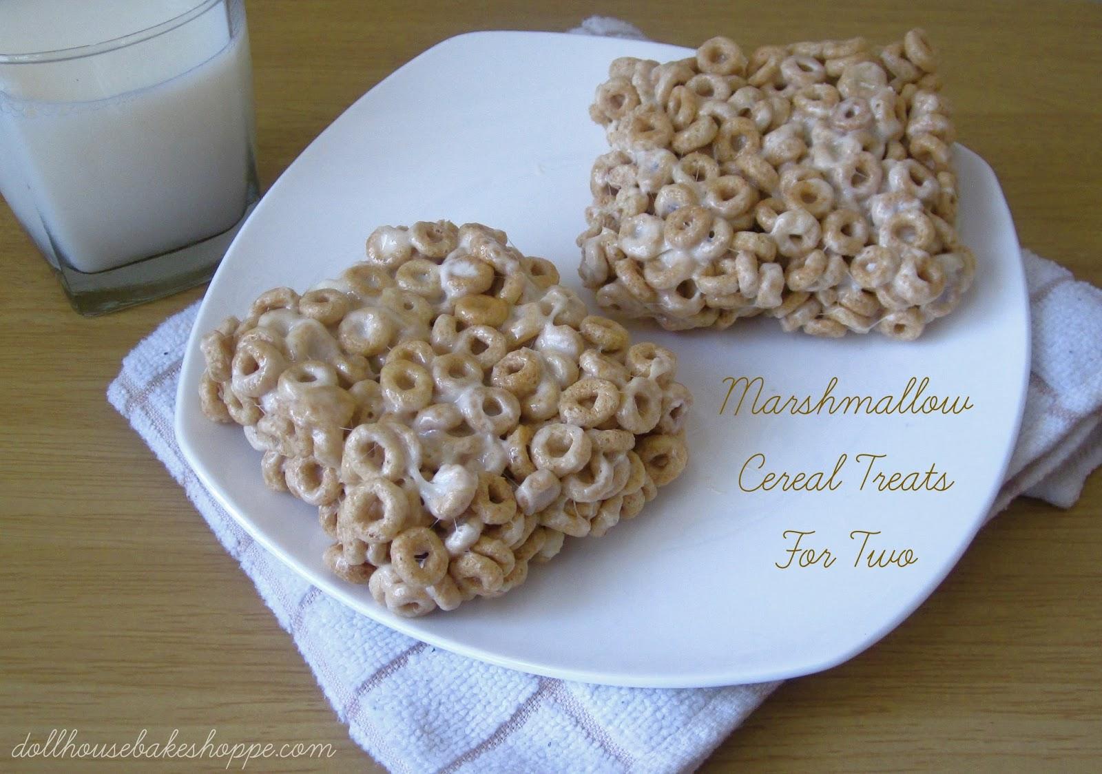 Marshmallow Treats Recipe — Dishmaps
