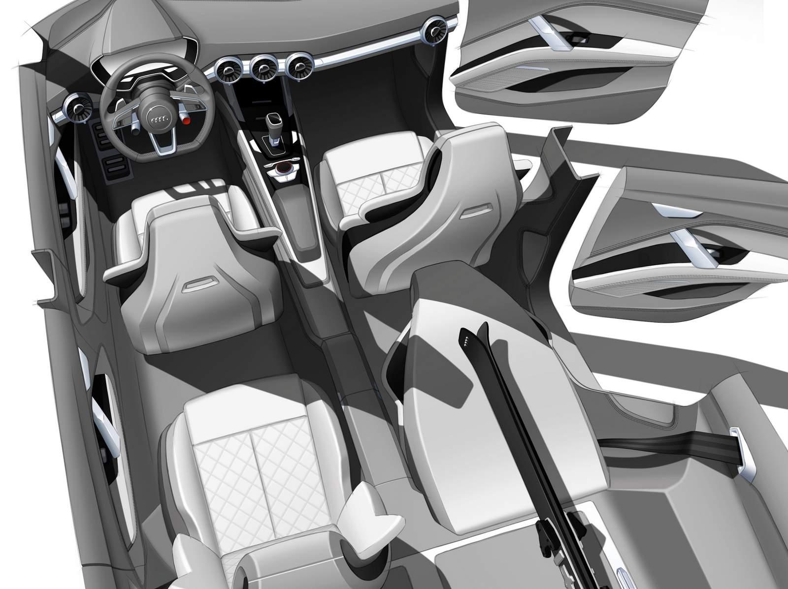 Audi Q4 Conceitual - interior