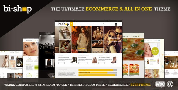 Bi-Shop v1.2.2 - All In One Ecommerce & Corporate theme