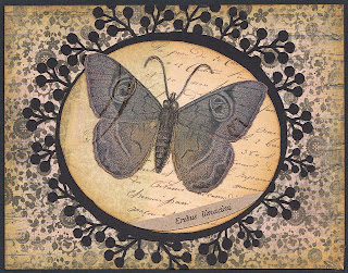 moth, greeting card