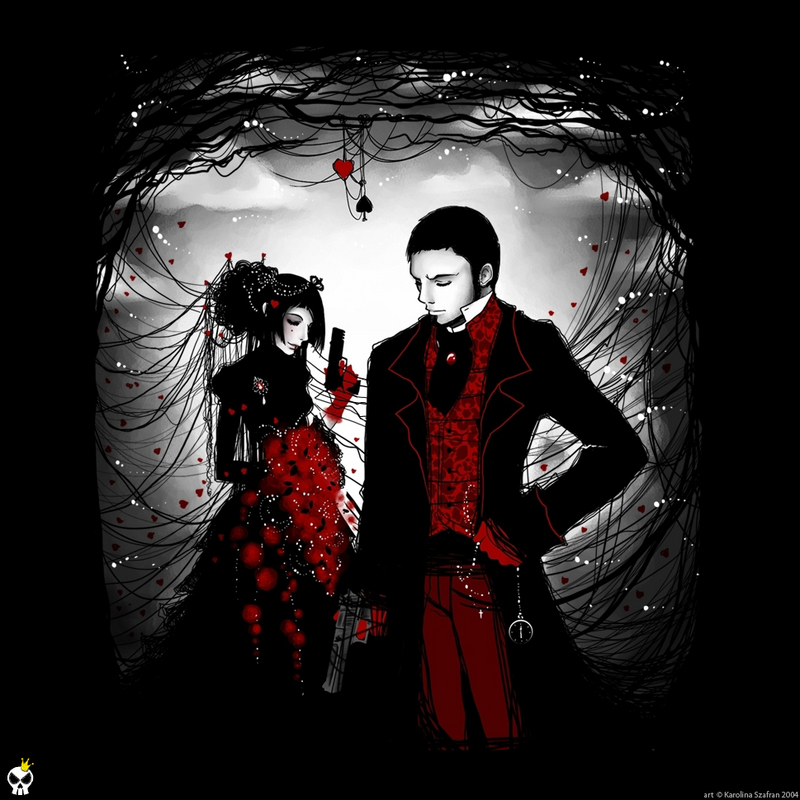 Gothic Love couple Wallpaper : Gothic Love Wallpaper - Wallpapers And Pictures