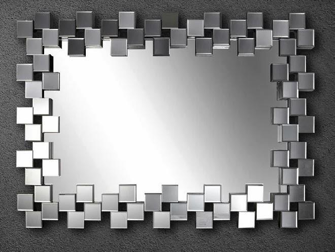 espejo moderno, espejo abstracto, espejo cuadro