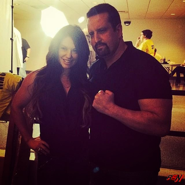 Latest Picture Of Former WWE Diva Kaitlyn With Tommy Dreamer.