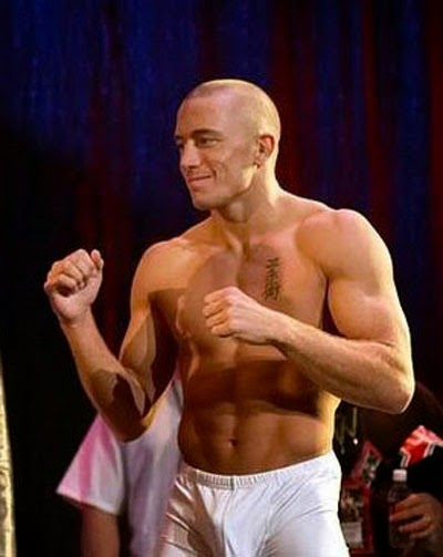 Georges St. Pierre undies