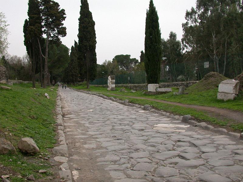 calzada romana en appia antica