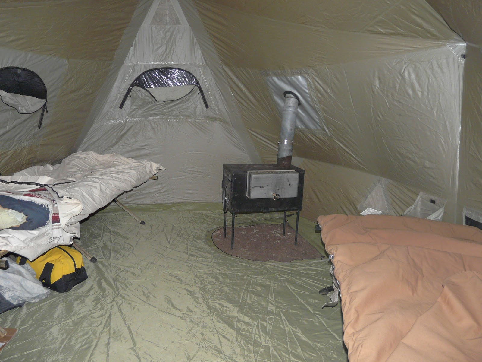 I used the vestibule as a mud room during my 2011 Sept elk hunt to keep boots and gear protected from the weather but out of the main tent body. & Cabelau0027s Bighorn II Tent Review