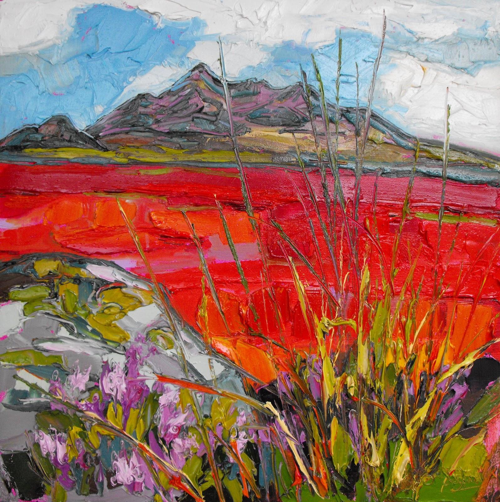 Scottish Art: Judith I Bridgland: Calling Art Lovers In Stockholm