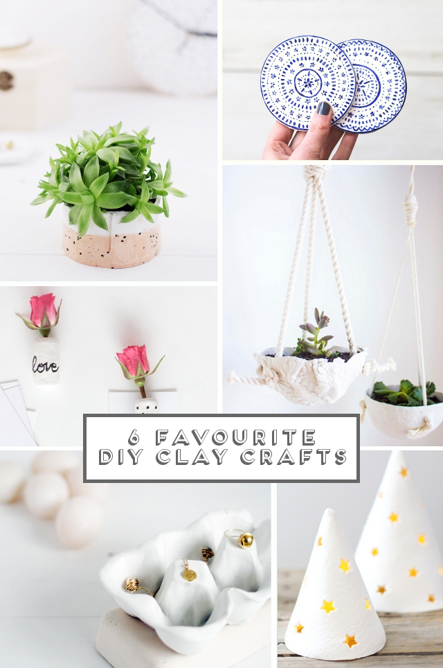 Http Www Gatheringbeauty Com 2015 03 6 Favourite Diy Clay Crafts Html