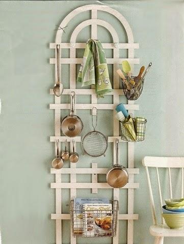 Oh naturel 15 trucos para ordenar la cocina - Como colgar una manta en la pared ...