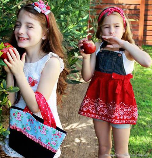 moda infantil verano 2014 accesorios