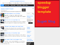 Download speedup blogger template