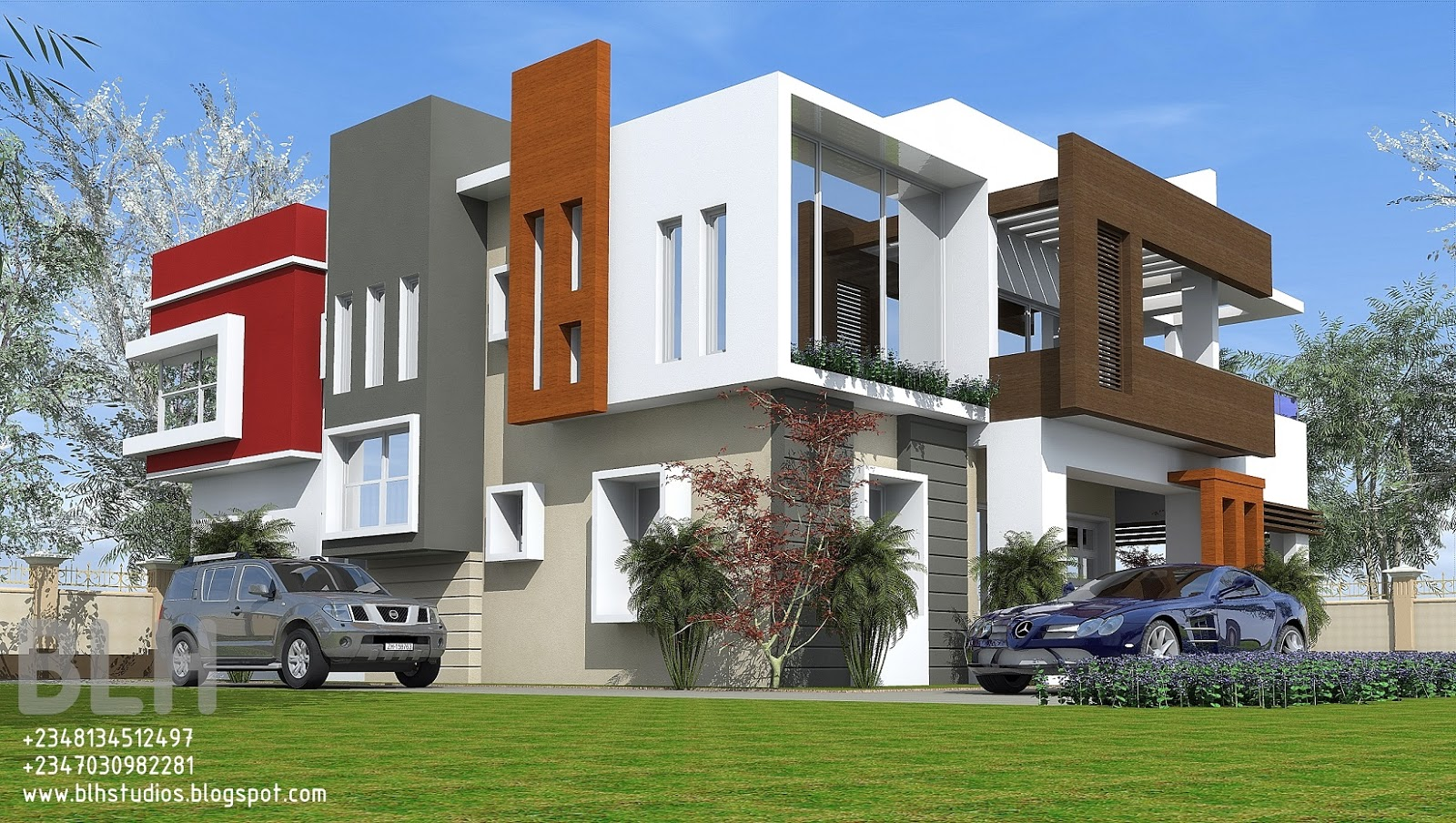 Architectural designs by blacklakehouse 5 bedroom duplex for 5 bedroom duplex