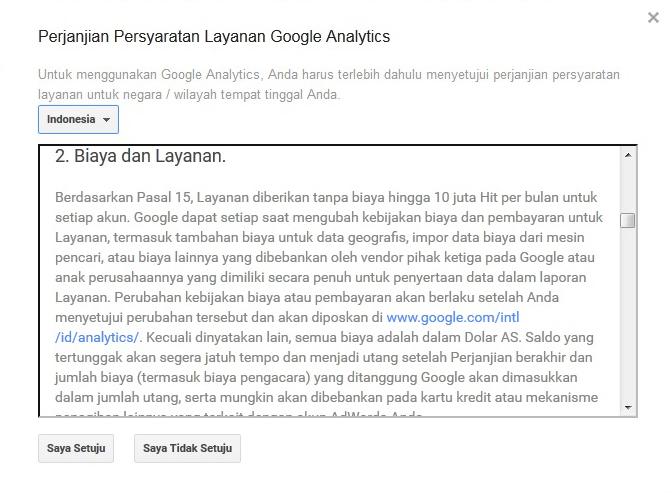 google analityc berbiayakah