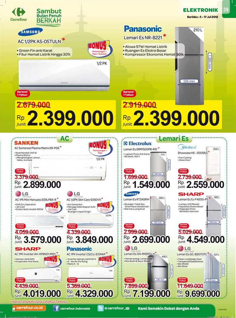 Katalog elektronik carrefour 4 - 17 july