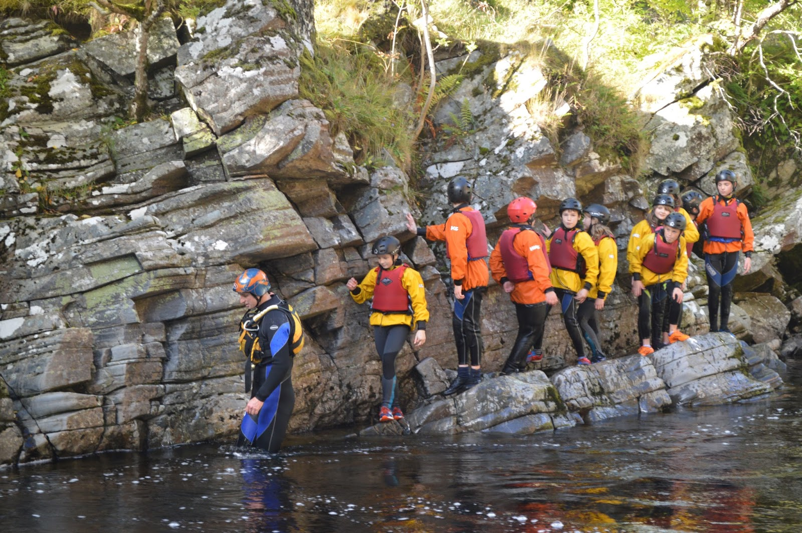 Sciennes P7 Lagganlia 2015 Group 9 In The River Feshie