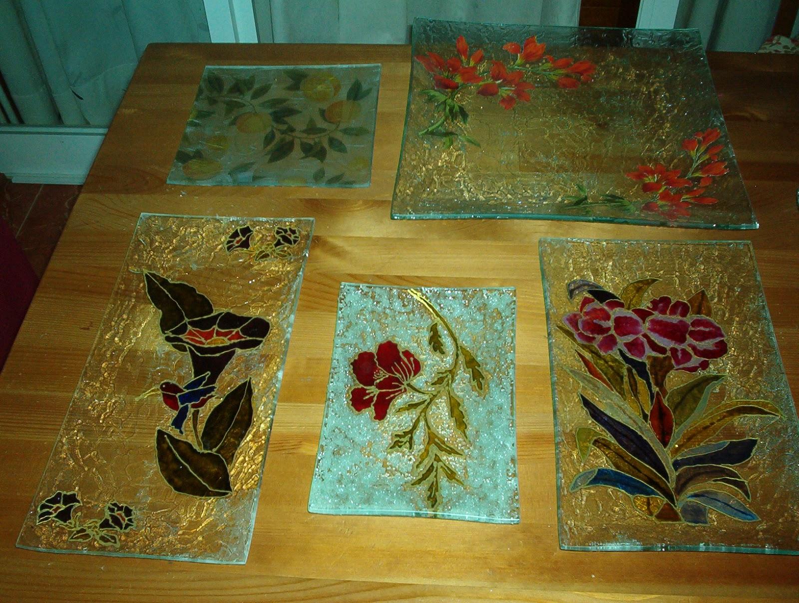 El divan del arte pintura sobre cristal for Cuadros de metacrilato