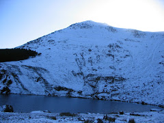 Knockanaffrin and Lough Mohra in winter