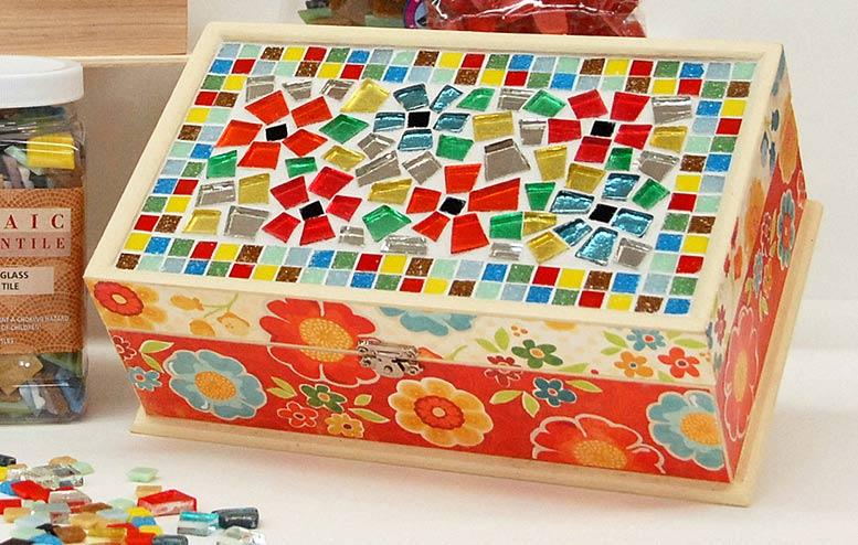 Ben Franklin Crafts and Frame Shop Monroe WA DIY Mosaic
