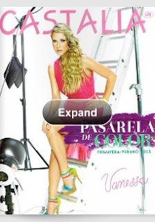 Catalogo de calzado Castalia PV 2013