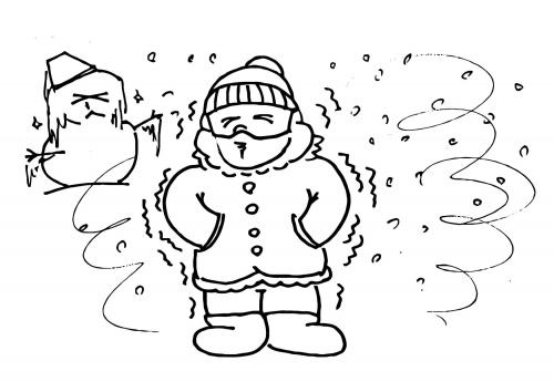 Clima frio para colorear - Imagui
