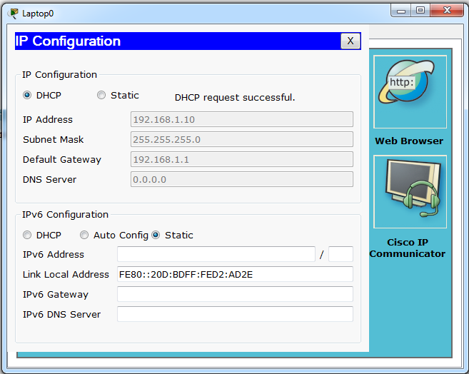 dhcp assign ip address vlan