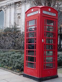 Super Mum Diaries - Londres cabina telefónica, London phone box