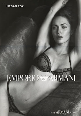 Megan Fox in New Armani Lingerie Photos
