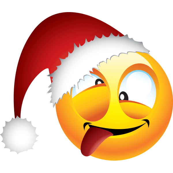 Zany Santa Smiley