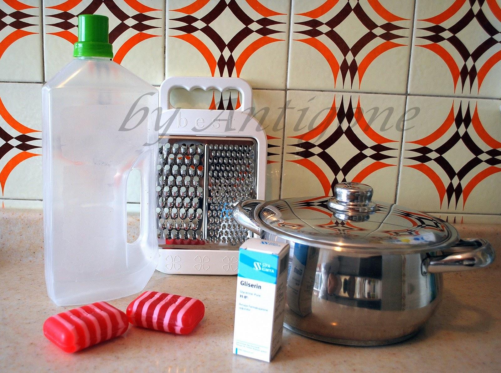 Ev Yapımı Doğal Sıvı Sabun