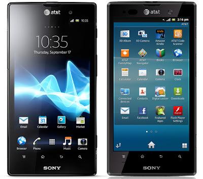 sony xperia ion hp android harga dan spesifikasi sony xperia ion hp