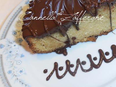 torta di pere con cioccolato