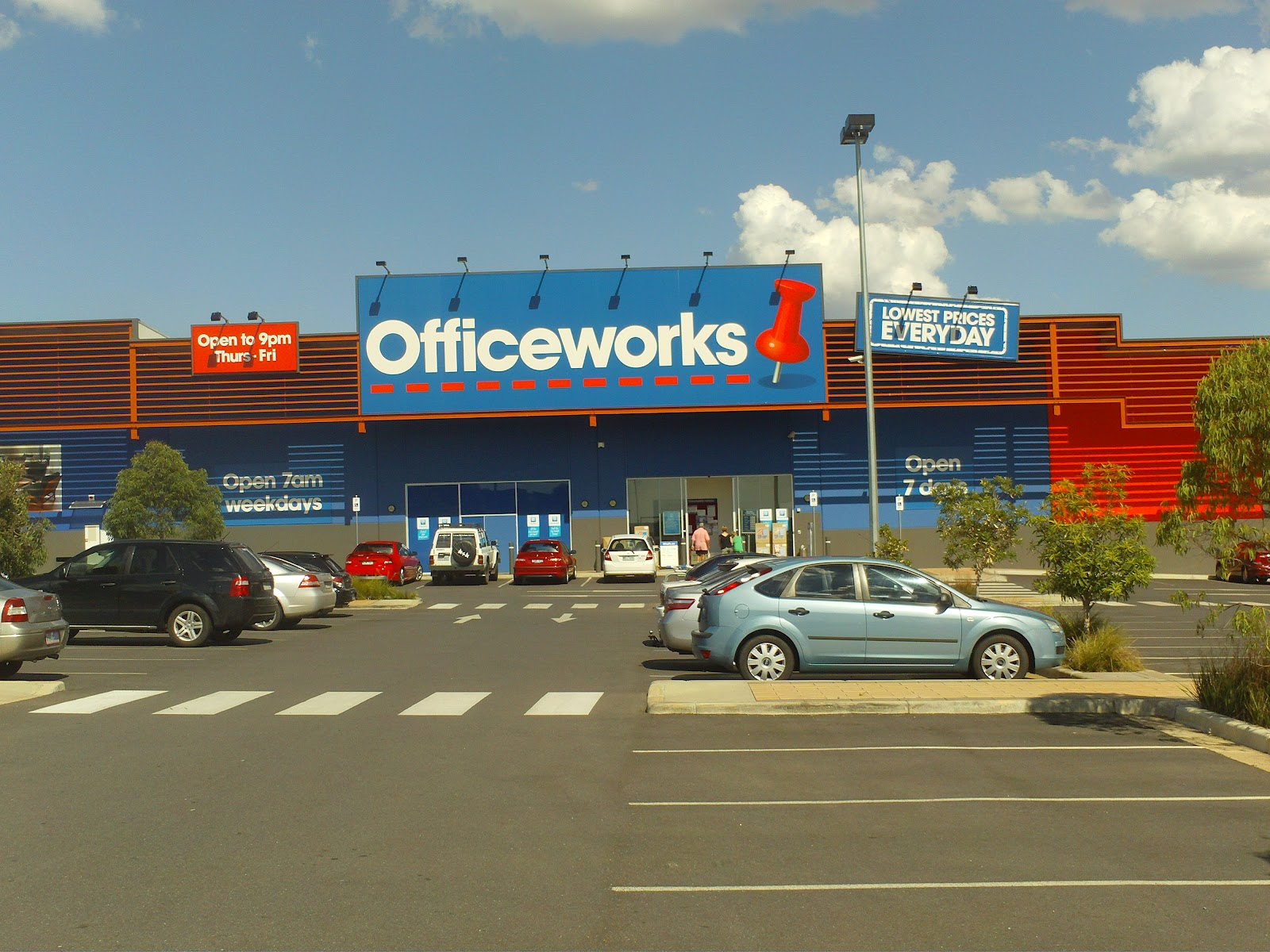 The Wodonga CRT Support Network: Officeworks: Coming through for ...