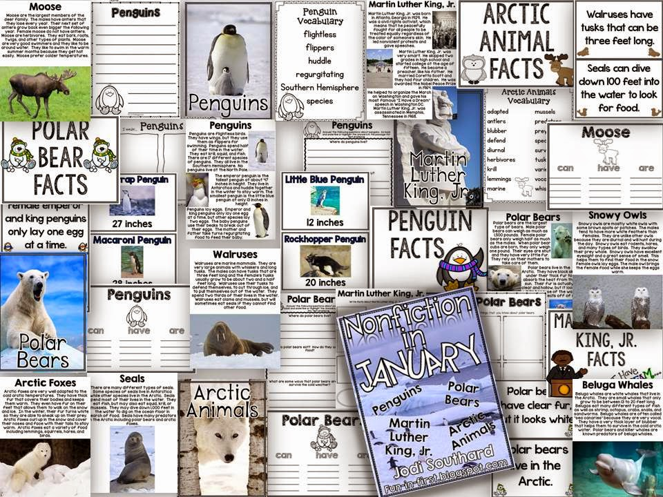 http://www.teacherspayteachers.com/Product/Nonfiction-in-January-1612645