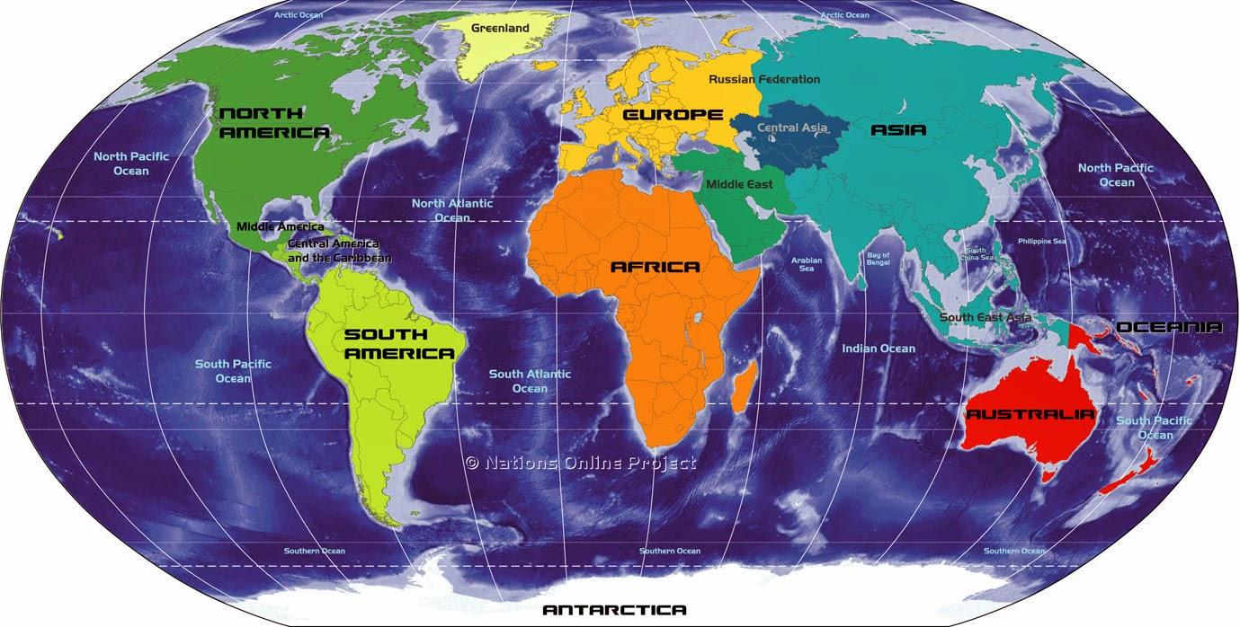World Map & Information: News Website list