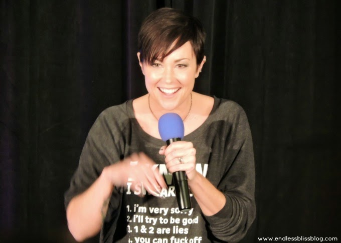 kim rhodes at supernatural con in houston, texas