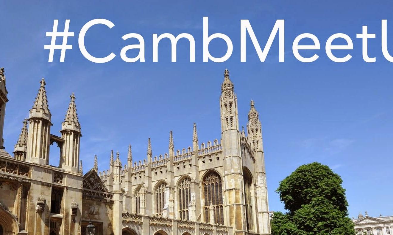#CambMeetUp