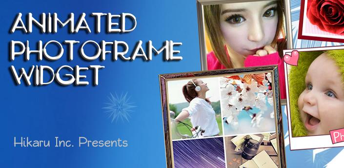 Animated Photo Frame Widget + v4.7.5 Full Apk İndir
